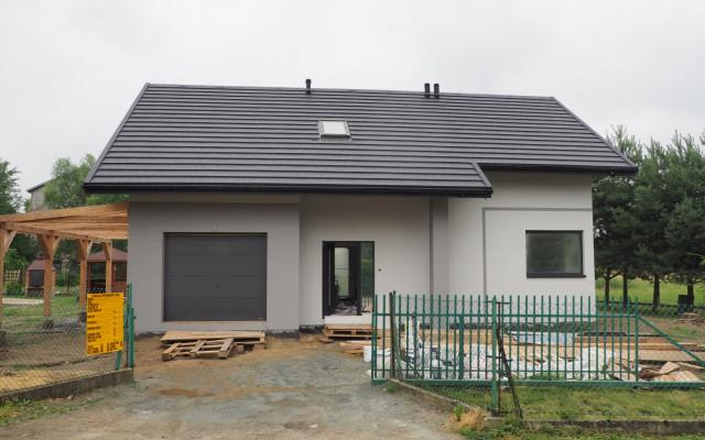 Kęty 2020. Projekt: Dom w Brunerach. Budowa domu szkieletowego w Kętach