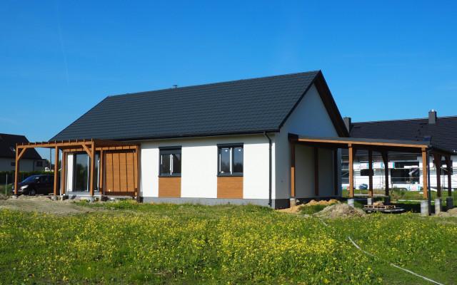 Bełk 2021. Projekt indywidualny. Budowa domu szkieletowego w Bełku