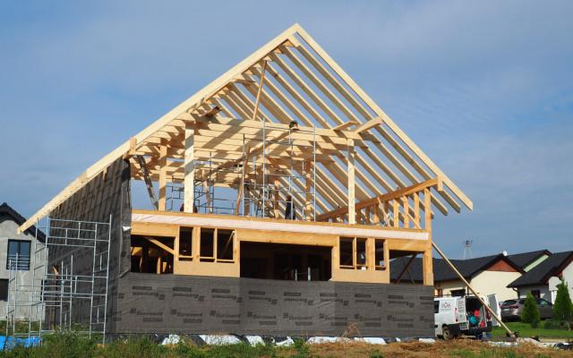 Żory 2021. Projekt indywidualny. Budowa domu szkieletowego w Żorach